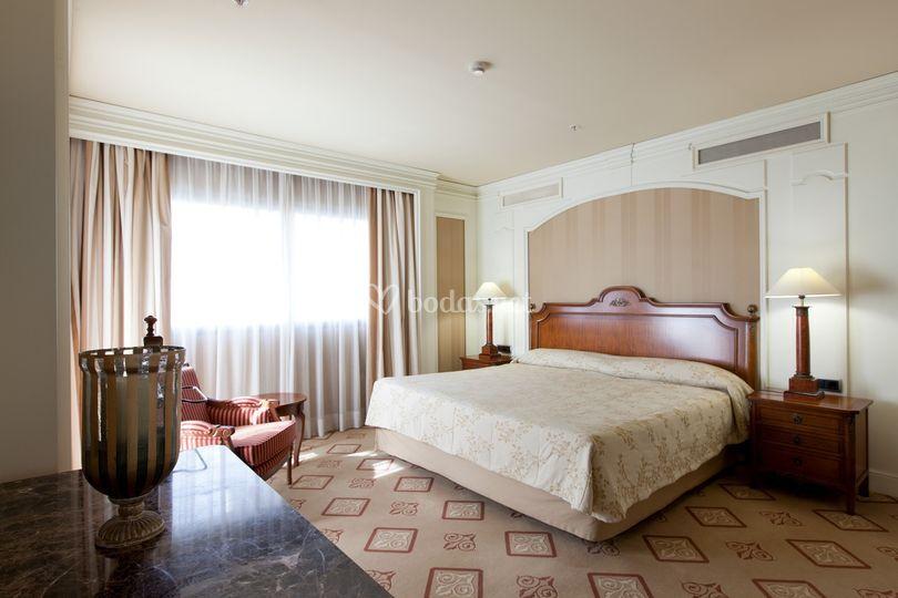 Suite Presidencial dormitorio