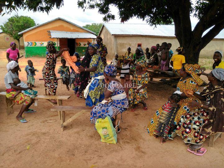 Comunidades en Benín
