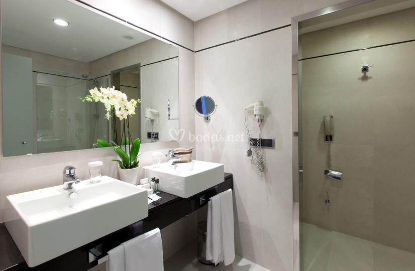 Baño suite nupcial