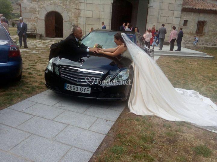 Clase E boda en julio de 2017