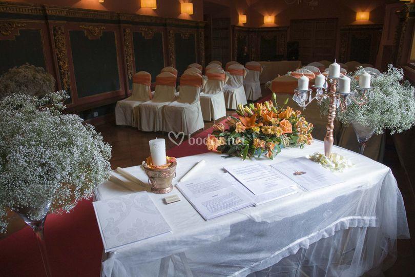 Ceremonias llenas de encanto