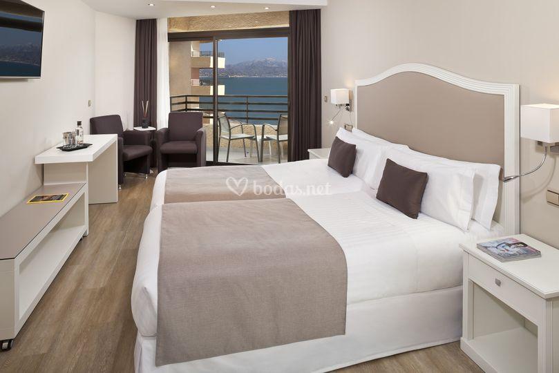 Deluxe room vista mar
