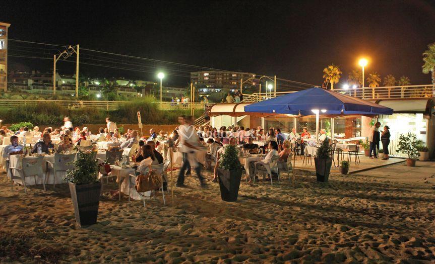 Cenas en la playa