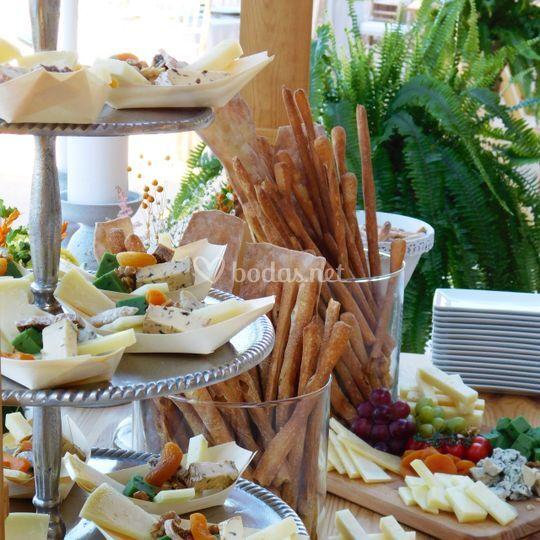 Puesto de quesos