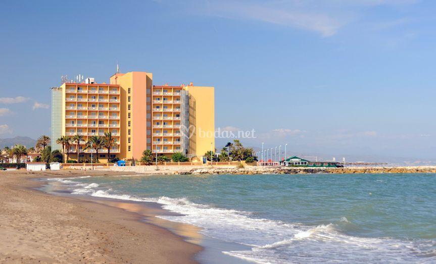 Tryp guadalmar for Hoteles junto al mar