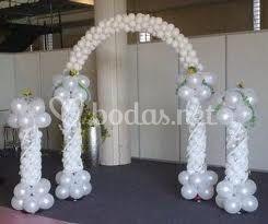 Arcos y columnas para el salón