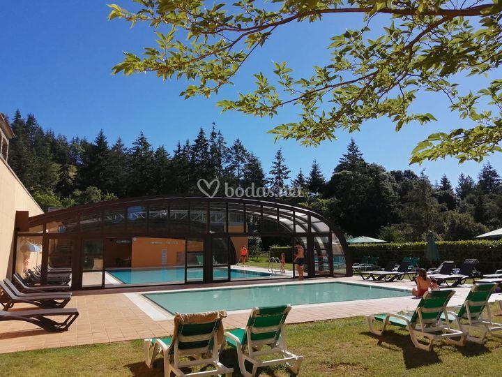 Nueva piscina exterior