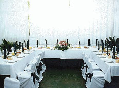 Comedor para los invitados