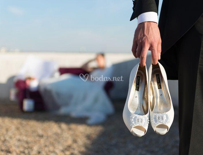 los zapatos de la novia de tryp gijón rey pelayo | foto 12