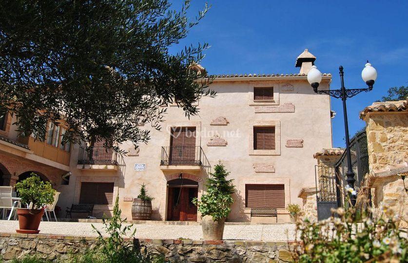 Masia El Parral fachada princi
