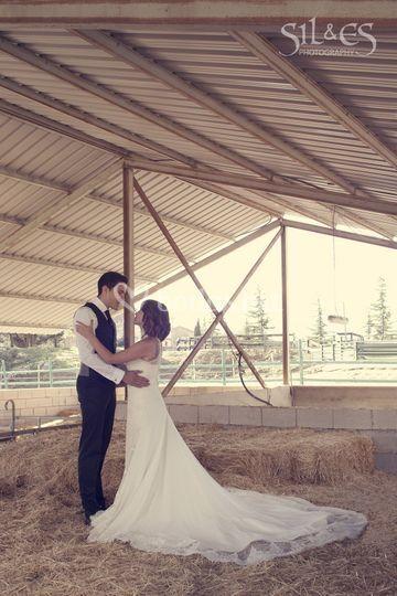 Fotos boda pajar