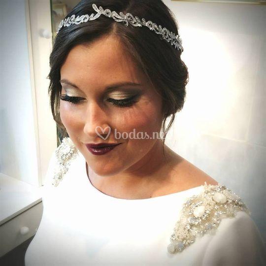 Alba maquillaje otoñal