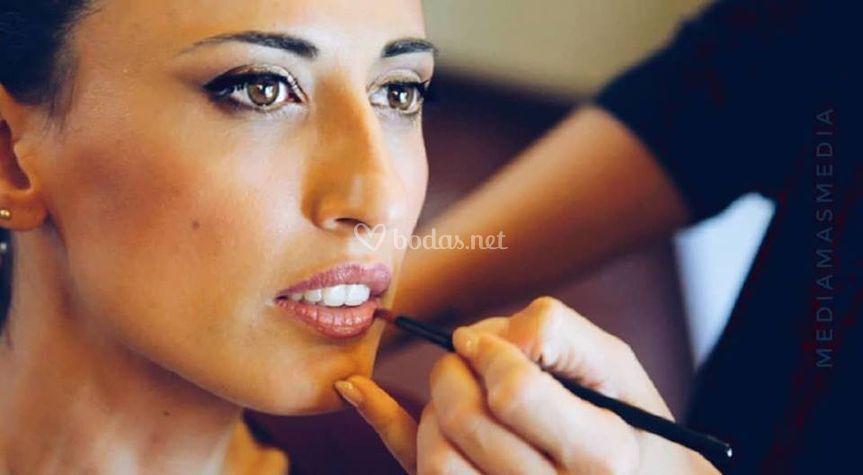 Lourdes maquillaje de tarde