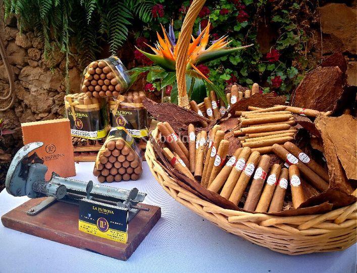 Mesa de tabacos