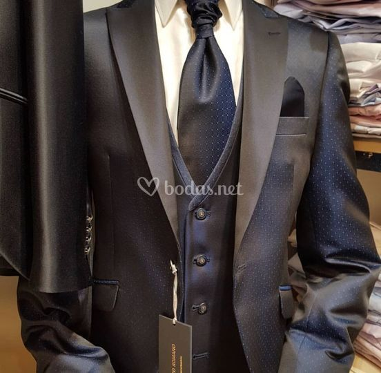 Chaleco y corbata