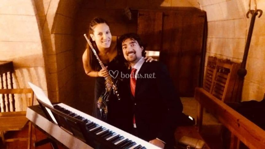 Flauta travesera y piano