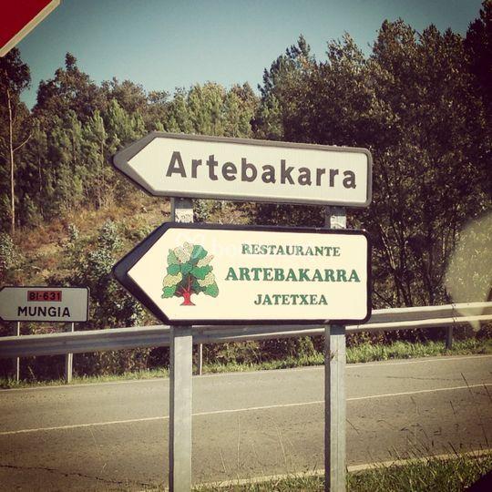 Localizacion Artebakarra