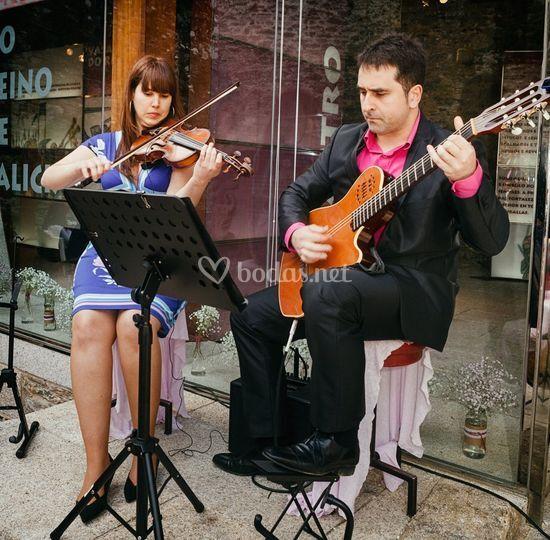Amalia y Manuel. Castillo