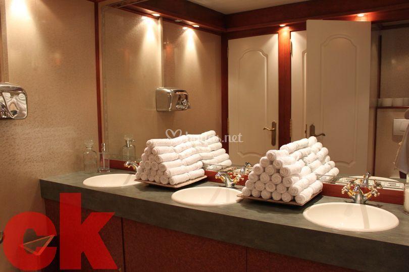 Baños portátiles de lujo