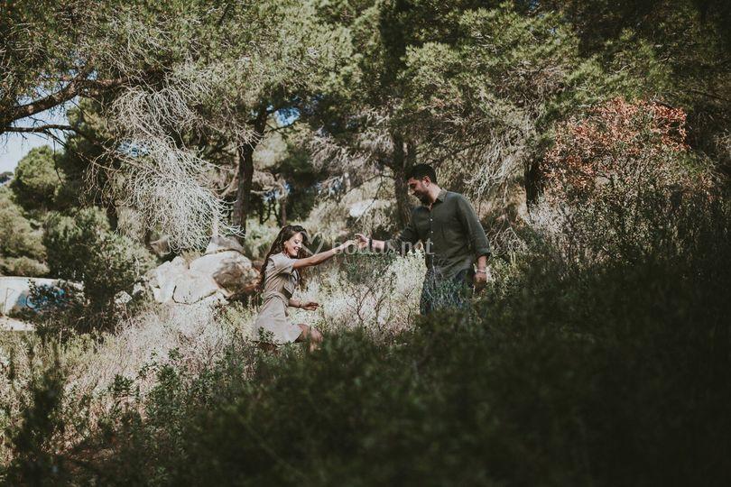 Judith y Stefano