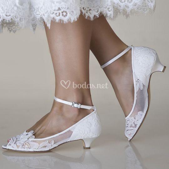 zapatos de novia lola bajos de amanecer de boda | foto 46