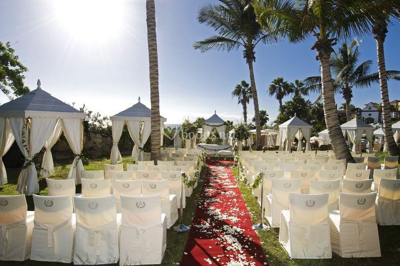 Ceremonia Jardín Beach Club