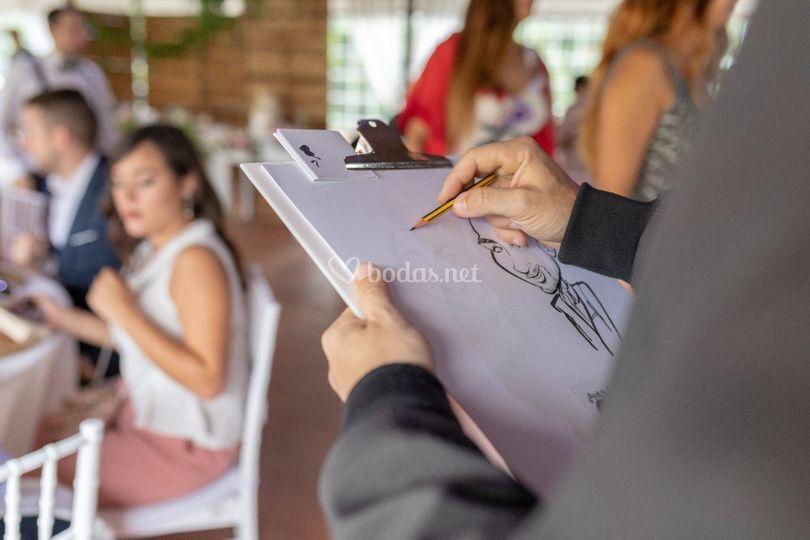 Caricaturista para eventos