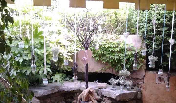 Decoración en los jardines