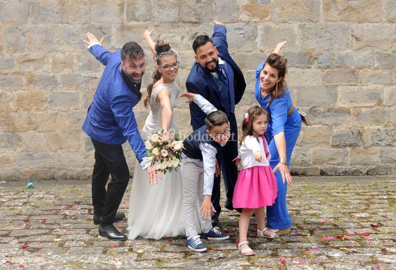 Alegría en familia