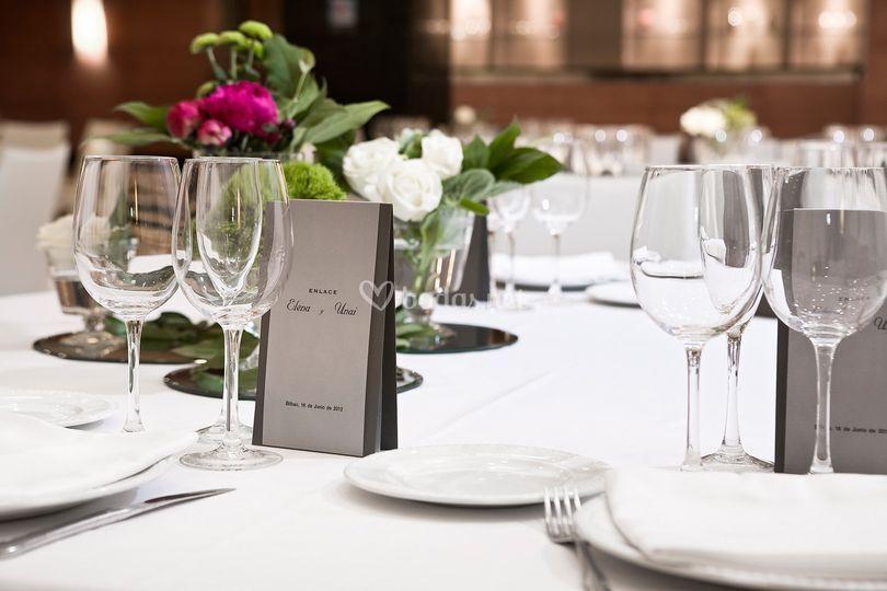 Montaje de banquetes