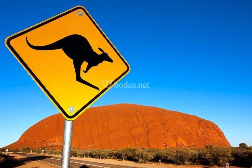 Carretera al Uluru