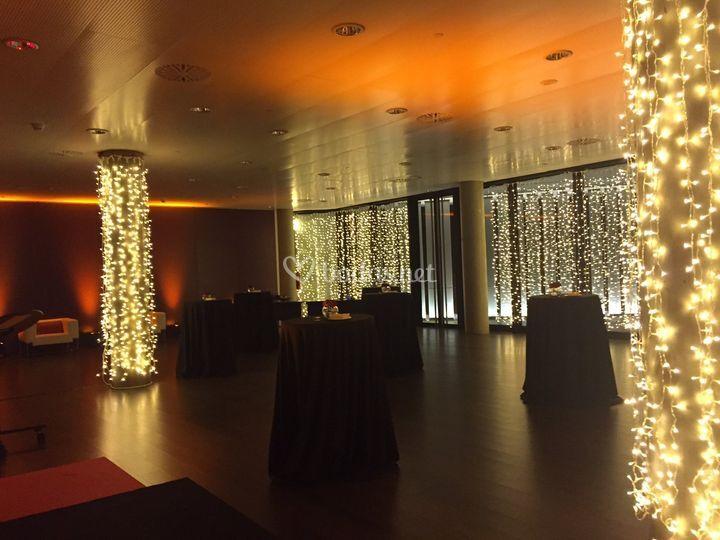 Cortinas LED