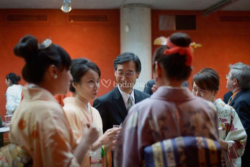 Evento en embajada japonesa