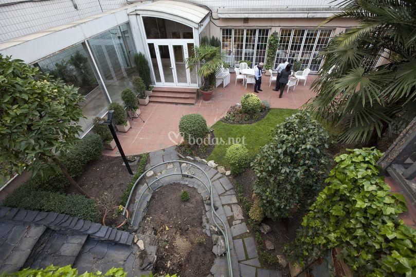 Jardines de hotel silken indautxu bilbao foto 11 - Hotel jardines bilbao ...