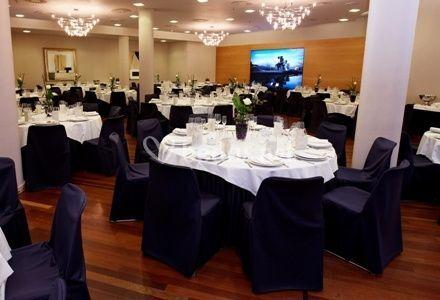 Vista general salón de banquetes