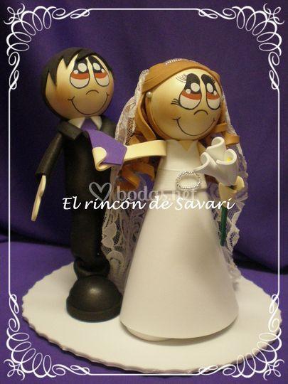 Figura personalizada tarta
