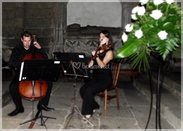 Dúo violín y cello