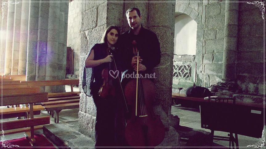 Dúo violín y violoncello