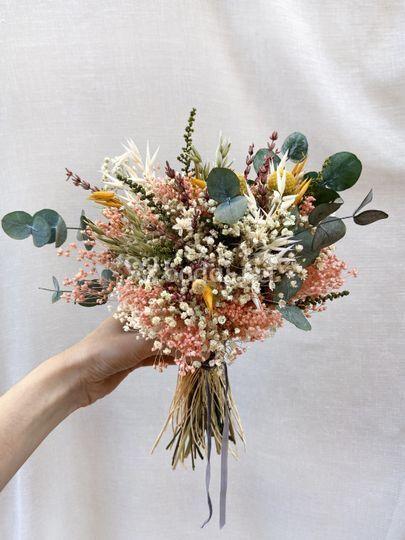 Ramo Flores Preservadas Chiara
