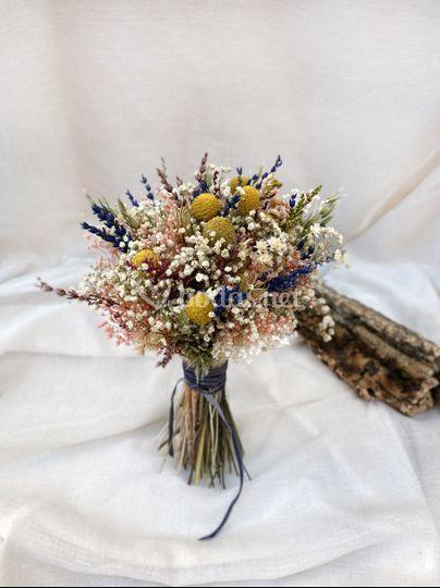 Ramo Flores Preservadas Ari