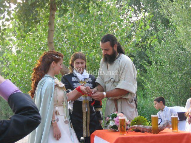 Ceremonia celta de Taranis - Recreación Cultural Histórica