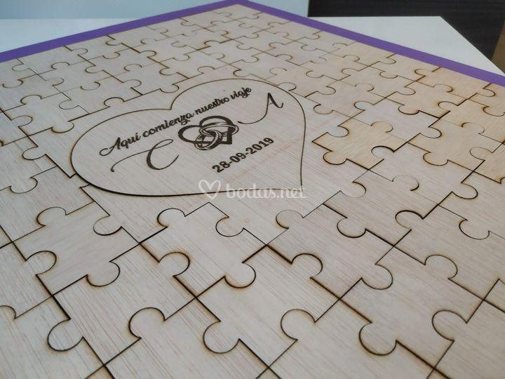 Puzzle para firmas