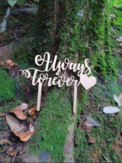 Topper Always&Forever