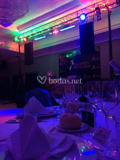 Iluminacion boda