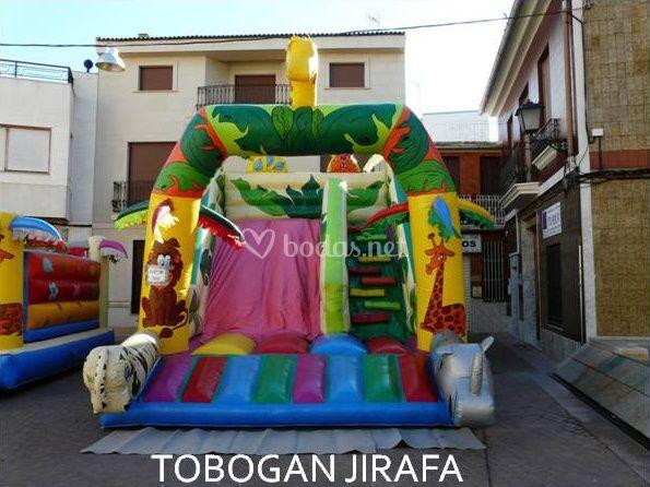 Toboganes infantiles