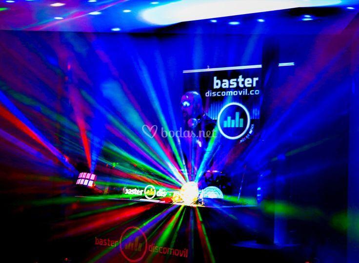 Iluminación disco