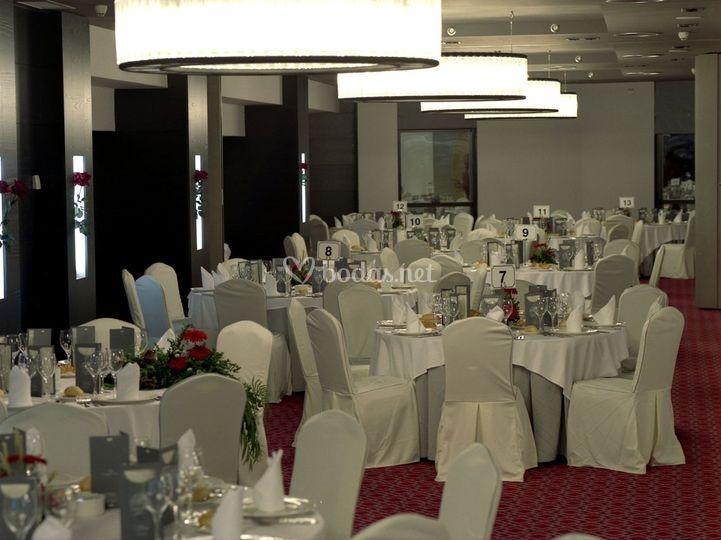Banquete en el hotel