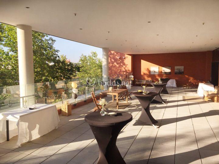 Cocktail terraza