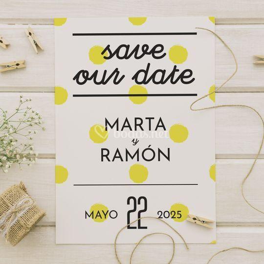 Save the Date Sevilla
