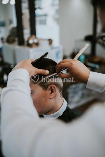 Corte masculino y afeitado